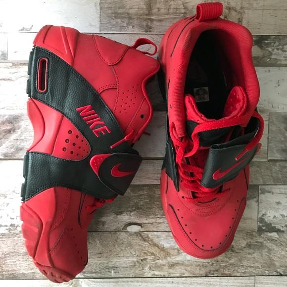 Nike Air Veer Redblack Shoes Sz